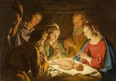 Adoration of the Shepherds by Matthias Stom.