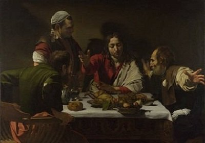 The Supper at Emmaus by Caravaggio.
