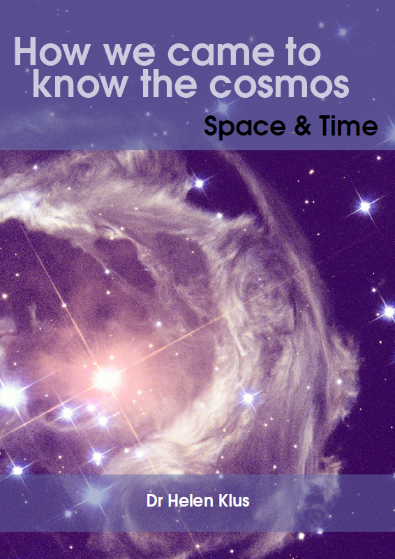 Buy How We Came to Know the Cosmos: Space and Time