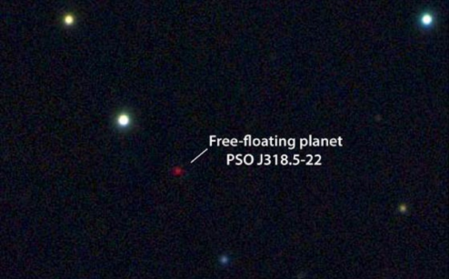 Photograph of planet PSO J318.5-22.