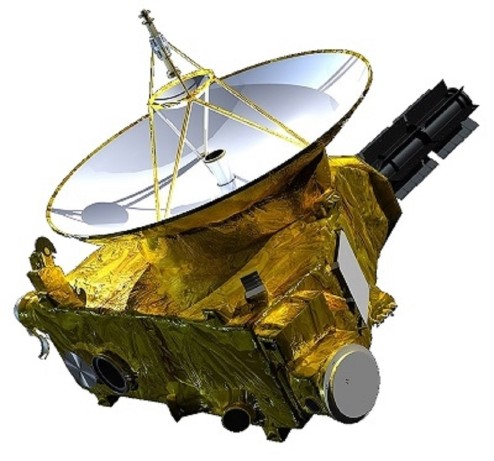The New Horizons space probe.