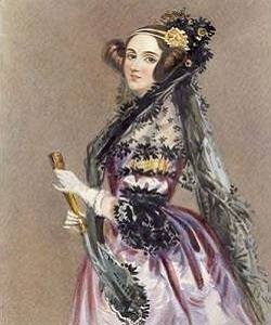Painting of Ada Lovelace.