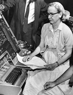 Photograph of Grace Hopper