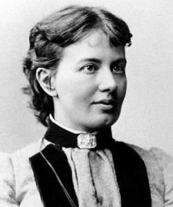 Photograph of Sofia Kovalevskaya.